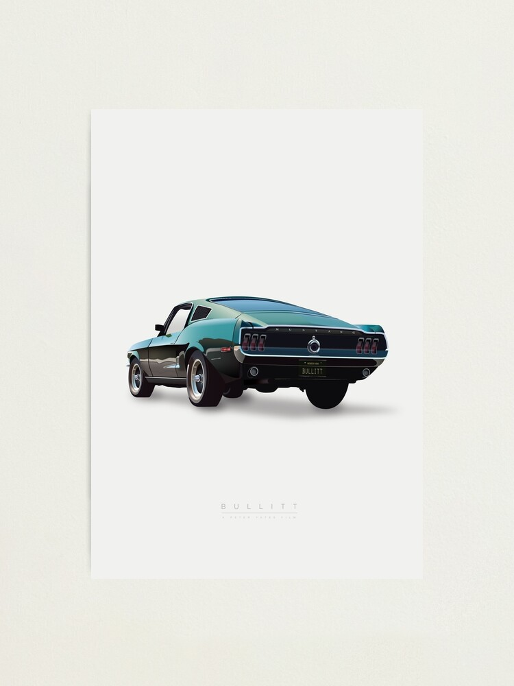 Alternate view of Bullitt Photographic Print