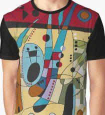 Camiseta gráfica Joan Miro - Carnaval Rojo