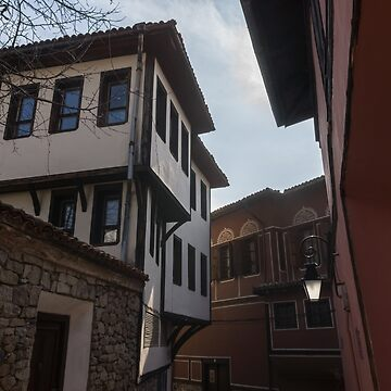 Hugging the Narrow Streets - Old Town Plovdiv Beautiful Revival Houses by GeorgiaM