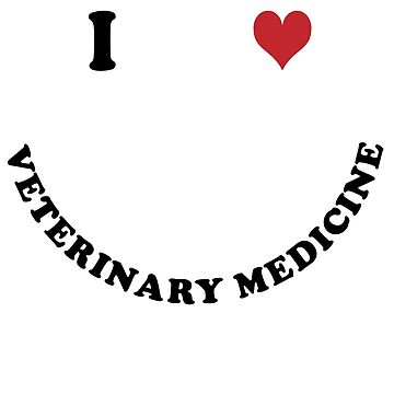 I love Veterinary Medicine by Vectorqueen