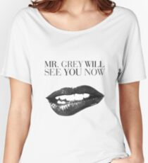 Mr grey will see u Relaxed Fit T-Shirt