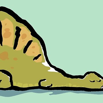 Does the spinosaur sleep tonight? by greendeer