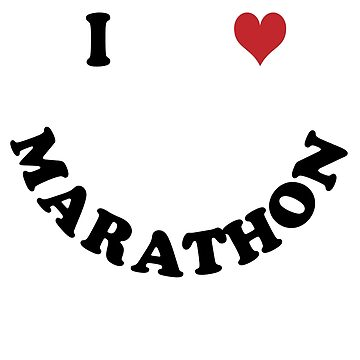 I love marathon by Vectorqueen