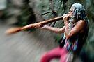 Didgeridoo Man by John Violet