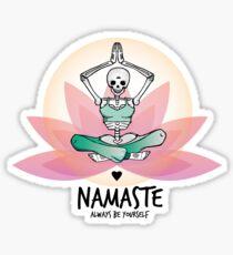 Yoga love forever & ever Sticker