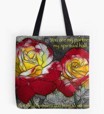 My Partner - Roses Tote Bag