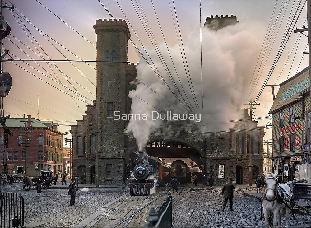 Boston and Maine Railroad depot, Salem ca 1910 by Sanna Dullaway