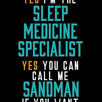 Hospital Sleep Medicine Specialist by BlueRockDesigns