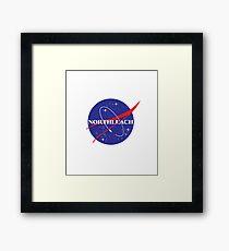 Northleach by NASA Framed Print