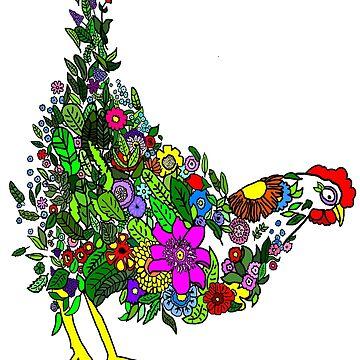 Flower Chicken by imphavok