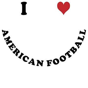 I love american football by Vectorqueen