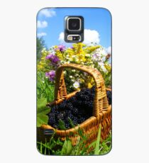 BlackBerry in basket Case/Skin for Samsung Galaxy