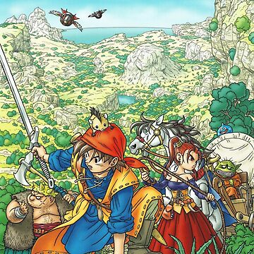 Dragon Quest VIII by ZacCummings