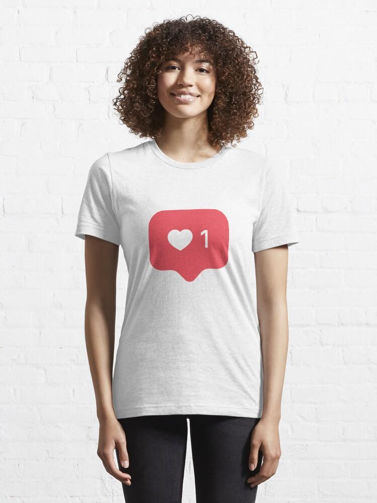 Alternate view of Instagram Like - Insta Like - Insta Heart 1 Essential T-Shirt