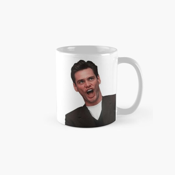 Jim Carrey, Jim Carry, funny face, smile, laugh, love, cinema, movies, film, occupations, actor, culture, cool, crazy, good vibes Classic Mug