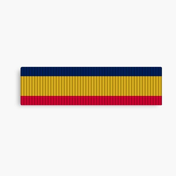 United States Navy Presidential Unit Citation ribbon | United States Service Ribbon Bars - Marine Corps Canvas Print