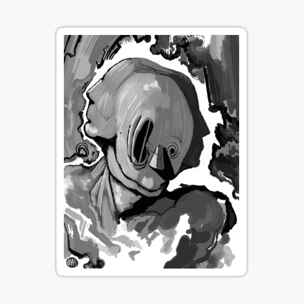Contained Sticker