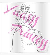 Bowsette - Yass Princess  Poster