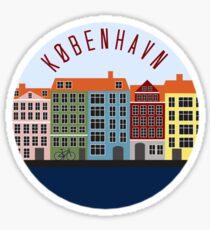 Copenhagen Sitcker Sticker
