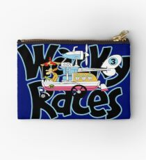 wacky races-convert-a-car-professor pat pending Studio Pouch
