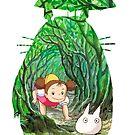 My Neighbor Totoro (2) by Agustí López