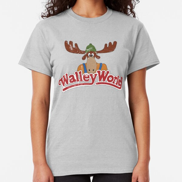 Walley World - Distressed Logo Classic T-Shirt