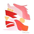 Flamingo Abstract No.12 by christinahewson