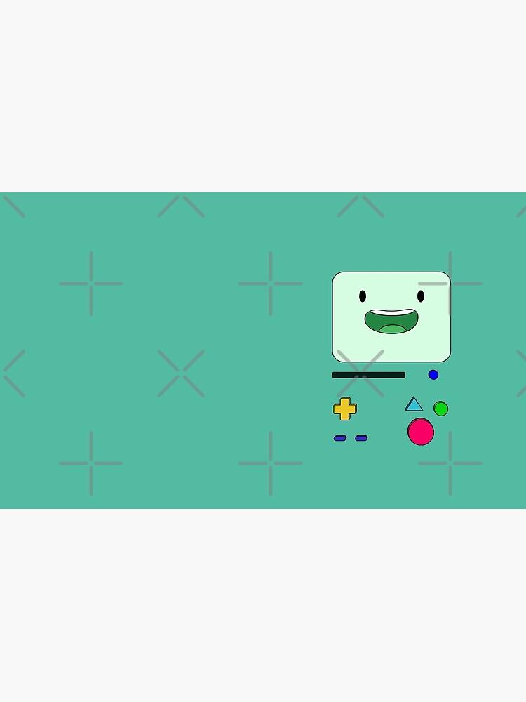BMO sits and waves - AdventureTime™ by MEME-MERCH-com