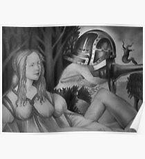 Venus in contemplation Poster