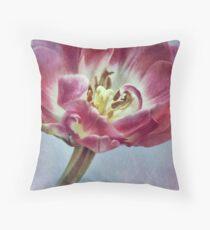 ~ textured tulip ~ Throw Pillow