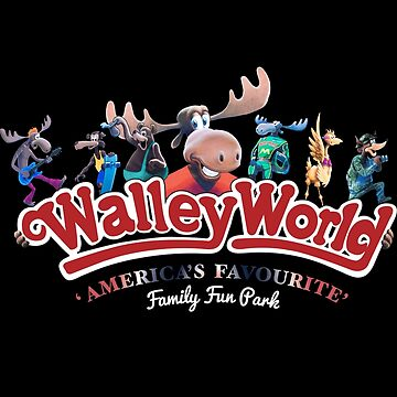 Walley World - America's Favourite Curved Logo by Purakushi