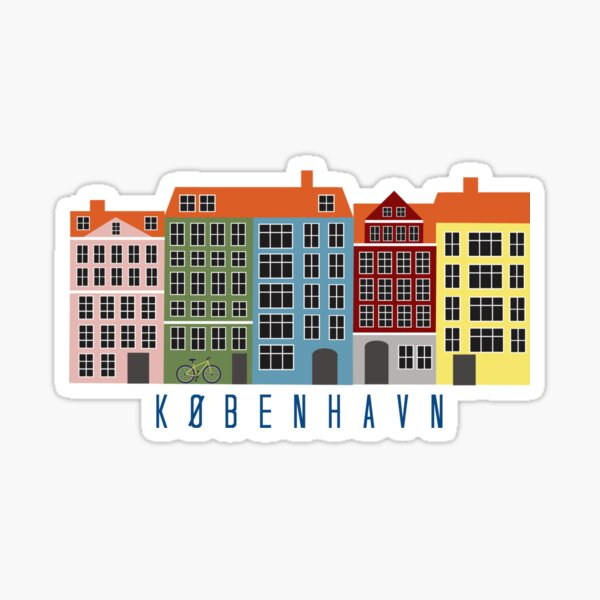 Kopenhagen Sticker