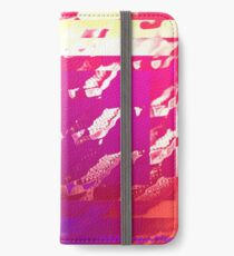 Fuchsia Abstract iPhone Wallet/Case/Skin
