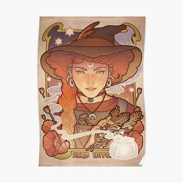 HERB WITCH Poster