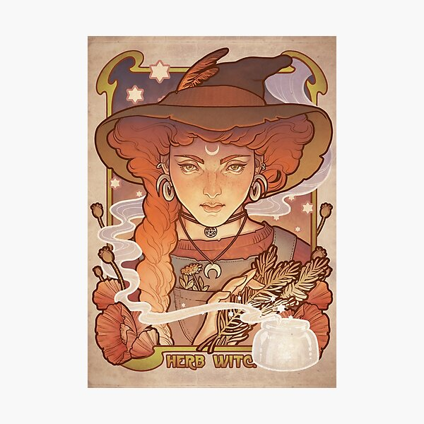 HERB WITCH Photographic Print