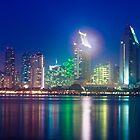 San Diego Skyline by bengraham