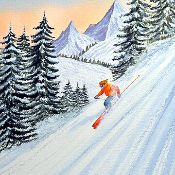 Skiing - The Clear Lady Leader by billholkham