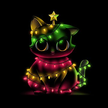 Meow Catmas Lights by tobiasfonseca