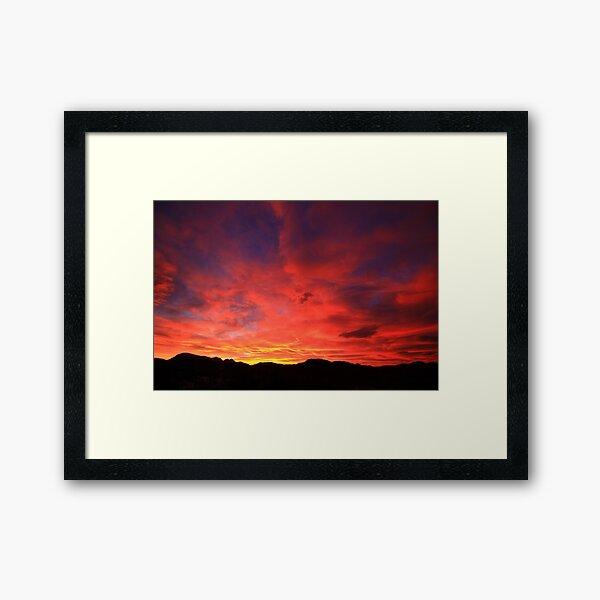 CrimsonTide Framed Art Print