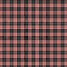 Simple tartan pattern in light red by pASob-dESIGN