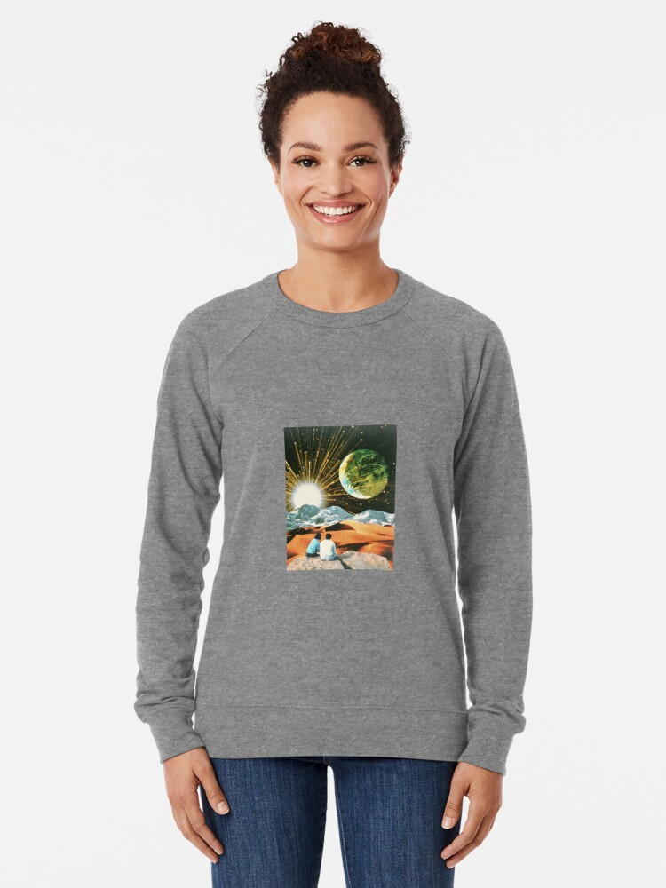 Alternate view of Another Earth Lightweight Sweatshirt