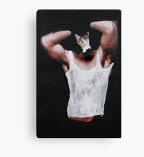 Clever Little Minx Canvas Print