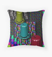 Gobs of Knobs Throw Pillow