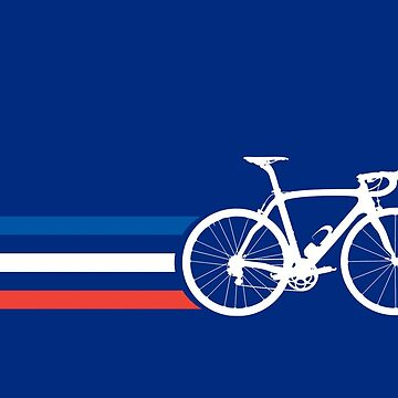 Bike Stripes French National Road Race v2 by sher00