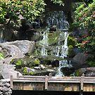 Crystal Springs water fall by Dale Lockridge