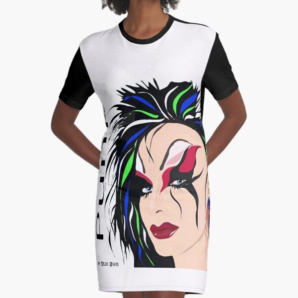 PUNK  Graphic T-Shirt Dress