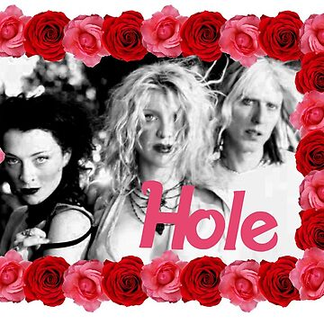 hole - floral design by livethroughthis