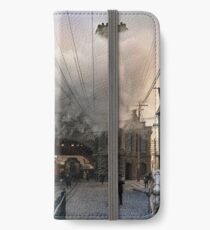 Boston and Maine Railroad depot, Salem ca 1910 iPhone Wallet/Case/Skin