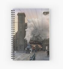 Boston and Maine Railroad depot, Salem ca 1910 Spiral Notebook