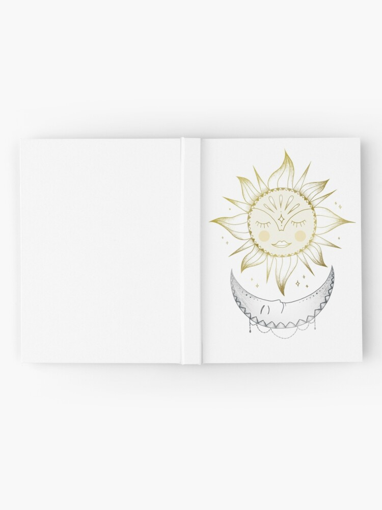 Alternate view of Sun and Moon Hardcover Journal
